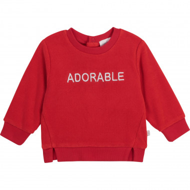 Embroidered terry sweatshirt CARREMENT BEAU for BOY