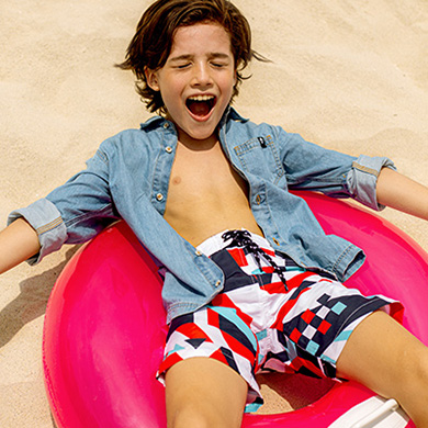 Take up to 50% off our summer 21 sale collection for boys