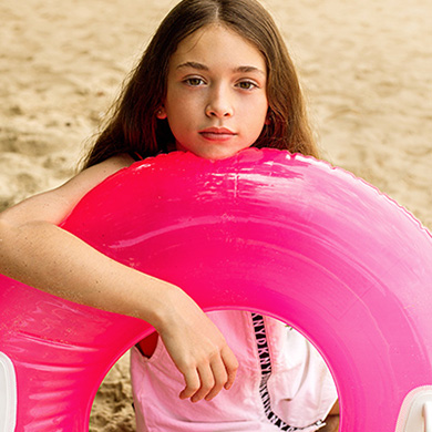 Take up to 50% off our summer 21 sale collection for girls